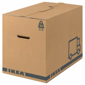 ЭТЭНЕ Упаковочная коробка,коричневый